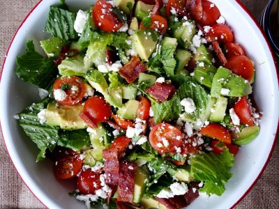 BLT Romaine Salad